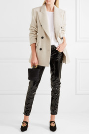Isabel Marant Eley wool and alpaca-blend coat