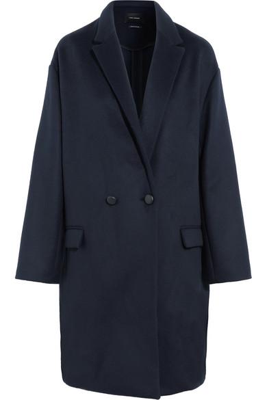 Isabel Marant Filipo Oversized-Mantel aus einer Woll-Kaschmirmischung