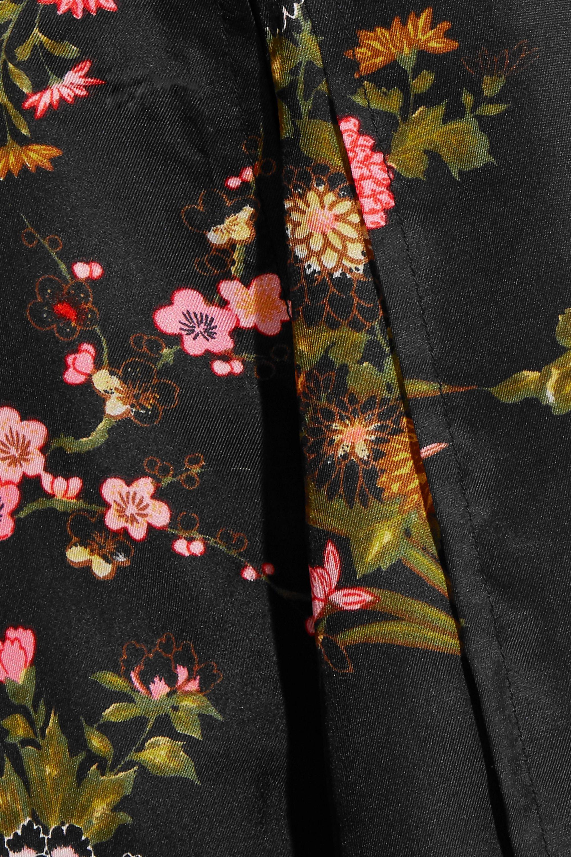 Isabel Marant Olympia floral-print silk-twill midi dress