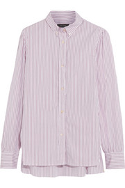 Isabel Marant Lilianne pinstriped cotton-poplin shirt
