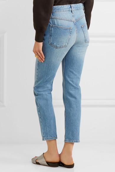 30baaa4b58b5 Isabel Marant Étoile. Cliff high-rise straight-leg jeans