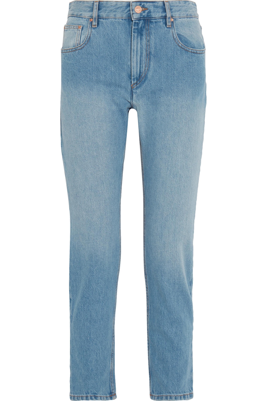 Isabel Marant Étoile Cliff high-rise straight-leg jeans