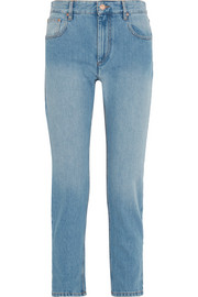 Cliff high-rise straight-leg jeans