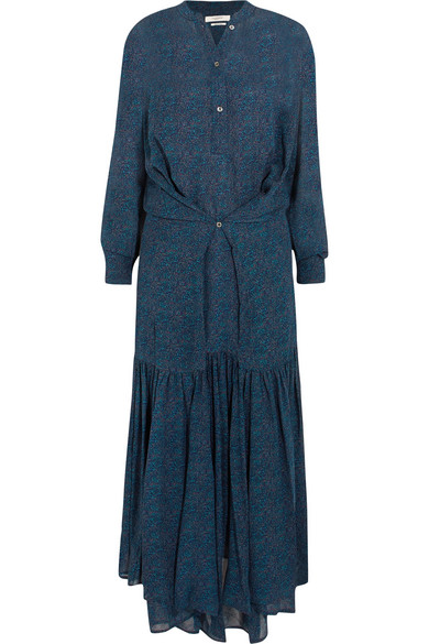 0f99ed1bd Isabel Marant Étoile | Javene printed chiffon maxi dress | NET-A ...
