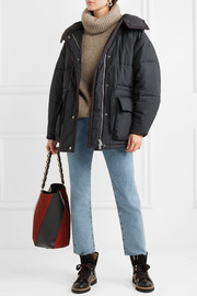 Étoile Isabel Marant Bulle oversized hooded quilted shell jacket