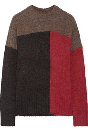 Isabel Marant Étoile Davy color-block knitted sweater