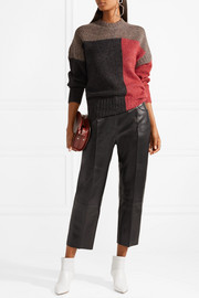 Davy color-block knitted sweater