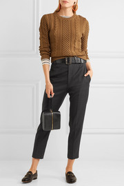Étoile Isabel Marant Noah checked wool tapered pants