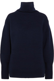 Victoria, Victoria Beckham Oversized ribbed wool turtleneck sweater