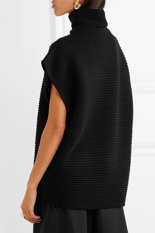 Victoria, Victoria Beckham Ribbed wool sweater