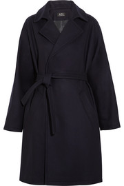 A.P.C. Atelier de Production et de Création Bakerstreet wool-blend coat