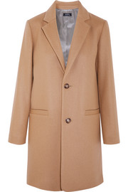 A.P.C. Atelier de Production et de Création Carver wool-blend coat