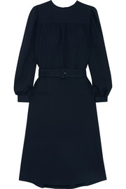 A.P.C. Atelier de Production et de Création Marguerite belted crepe midi dress