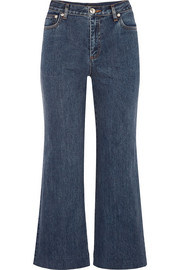 A.P.C. Atelier de Production et de Création Sailor cropped high-rise straight-leg jeans