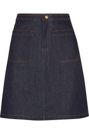 A.P.C. Atelier de Production et de Création Denim mini skirt