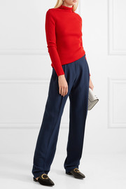 Carven Crepe wide-leg pants
