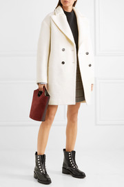 Carven Wool-blend bouclé coat
