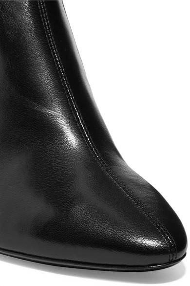 0bbf3458e93 Saint Laurent. Loulou leather over-the-knee boots. £600. Zoom In