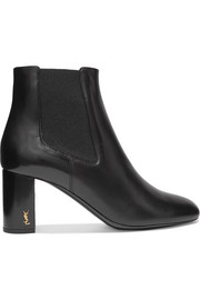 Saint Laurent Loulou leather ankle boots