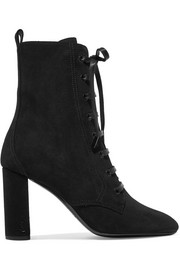 Saint Laurent Bottines en daim Lou Lou