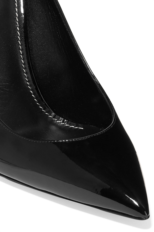 SAINT LAURENT Opyum patent-leather pumps