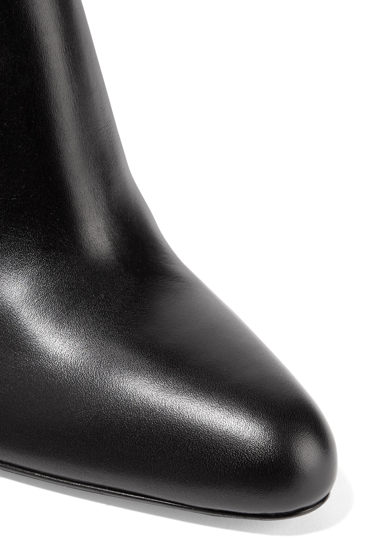 Marni Bottes hauteur genoux en cuir