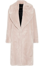 Cédric Charlier Oversized faux fur coat