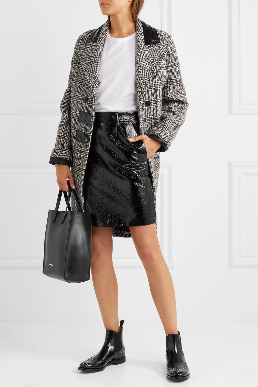 Black Ketsby Met studded glossed