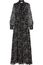 Paul & Joe Claudia floral-print silk-chiffon maxi dress