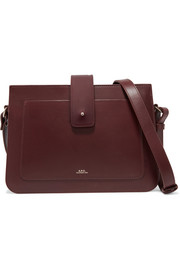 Albane leather shoulder bag