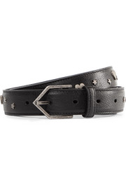 Saint Laurent Studded leather belt