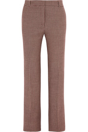 Paul & Joe Houndstooth tweed slim-leg pants