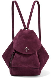 Fernweh mini suede backpack