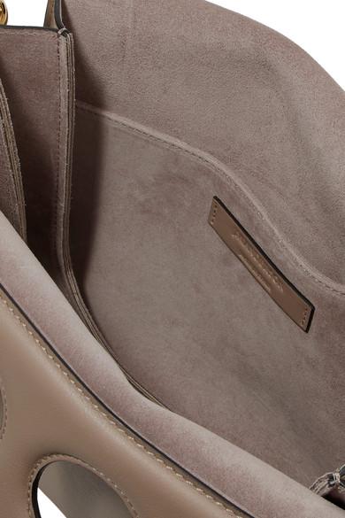 JW Anderson Pierce mittelgroße Schultertasche aus Leder