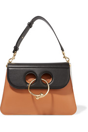 J.W.Anderson Pierce medium color-block leather shoulder bag