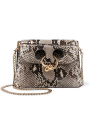 J.W.Anderson Pierce mini python shoulder bag