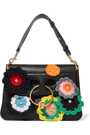 Pierce medium embellished leather shoulder bag