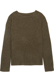 Baxter ribbed cashmere sweater