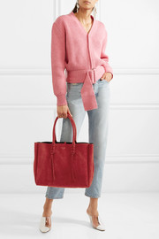Lanvin The Shopper suede tote
