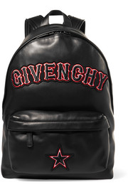Givenchy Appliquéd leather backpack