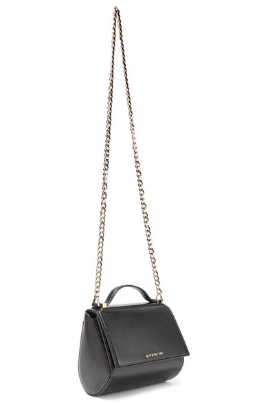 Pandora Box Mini Textured-leather Shoulder Bag - Black Givenchy 7uZT6c
