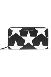 Givenchy Printed textured-leather wallet