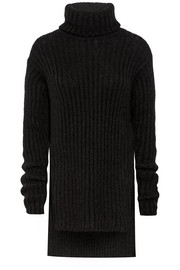 Balmain Mohair-blend turtleneck sweater