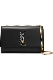 Saint Laurent Sac porté épaule en cuir Monogramme Kate Medium