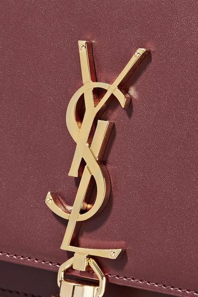 Saint Laurent Monogramme Kate Schultertasche aus Leder