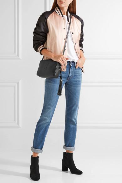 717a433001 Saint Laurent. Monogramme Lou leather shoulder bag