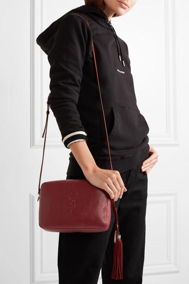 Saint Laurent Monogramme Lou Leather Shoulder Bag Net