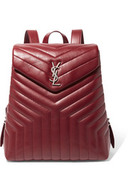 Saint Laurent Loulou quilted leather backpack