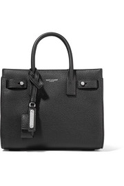 Saint Laurent Sac De Jour Nano textured-leather tote