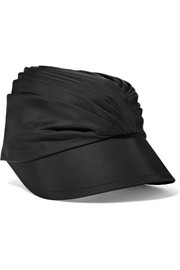 Prada Ruched satin hat
